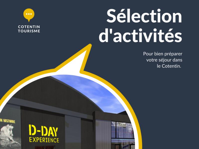 Trouvez une activité avec notre sélection d'adresses dans le Cotentin