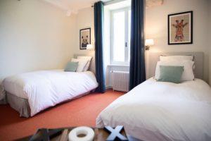 La Suite Chambre 2 manoir de juganville - chambre d'hote normandie cotentin