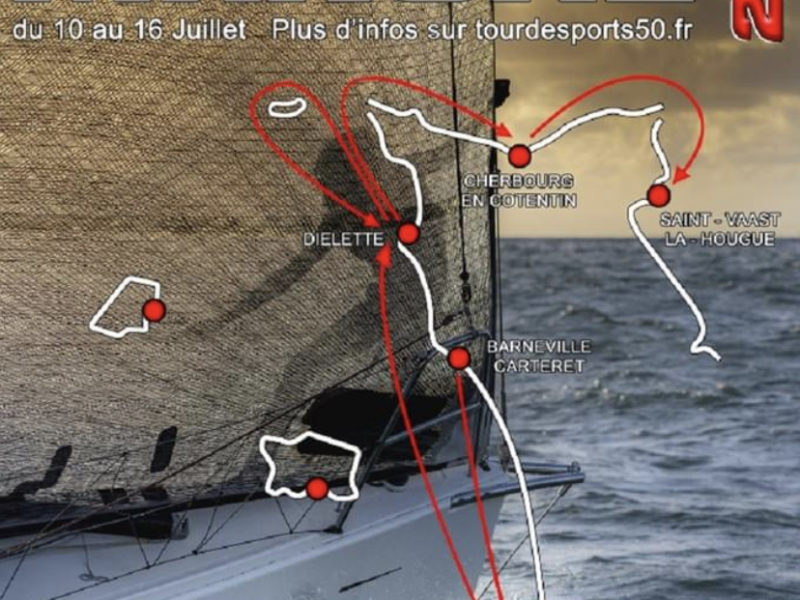 Agenda : 10 au 16 juillet 2021 Tour des Ports de la Manche