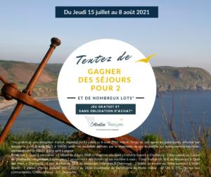 JEU GRATUIT SANS OBLIGATION D'ACHAT COTENTIN TOURISME JUILLET 2021