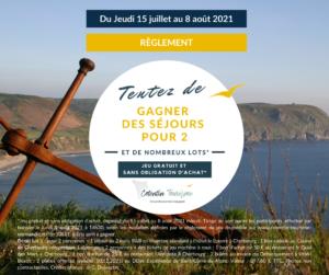 REGLEMENT JEU FACEBOOK 2021 COTENTIN TOURISME JUILLET 2021