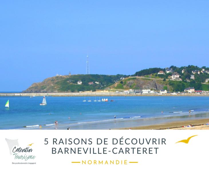 Normandie : 5 raisons de découvrir Barneville-Carteret dans le Cotentin
