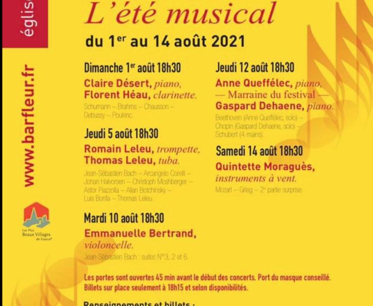 Agenda Cotentin : L'été musical de Barfleur 2021