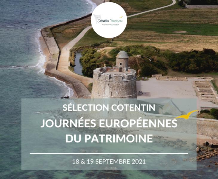 Journées Européennes du Patrimoine dans le Cotentin : idées sorties pour le 18 et 19 septembre 2021 – sélection Cotentin Tourisme